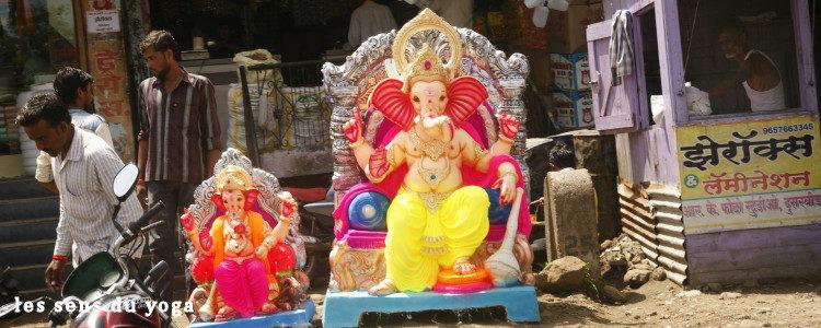 Ganesh le dieu mi-homme mi-éléphant